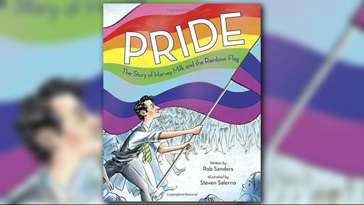 A newly released children's book tells the story of gay politician Harvey Milk and his efforts to fight for equality for the LGBTQ+ community, while also offering kids the chance to learn about the creation of the Pride flag.