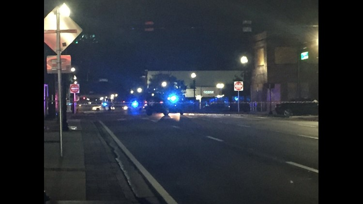 Two vehicles collided at the intersection of Union St. and N. Ocean St. Downtown early Thursday morning leaving three in the hospital with one sustaining life-threatening injuries.