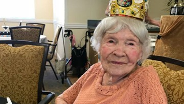 Meet Helen: She's 105 and this Palm Harbor woman credits drinking, smoking for her longevity