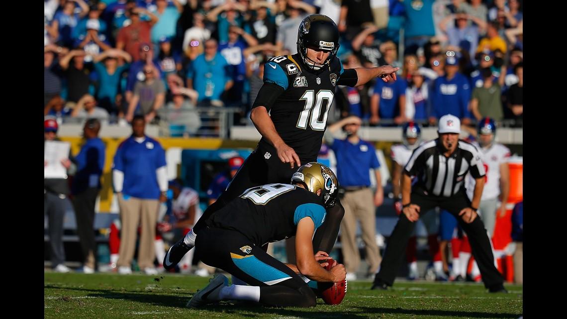 7a1a4036e Trade  4 (2015)  The Jaguars trade kicker Josh Scobee to the Pittsburgh  Steelers for a 2016 sixth-round pick (quarterback Brandon Allen).