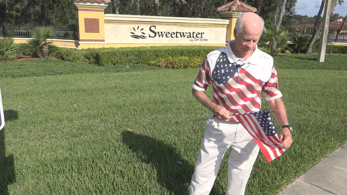 Veteran Loses Home To HOA For Displaying Small Flag In