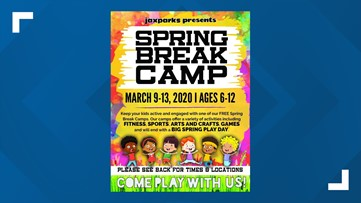 Free camps give kids chance for fun, fitness over spring break
