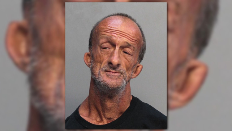 Homeless Florida man with no arms accused of stabbing tourist with scissors