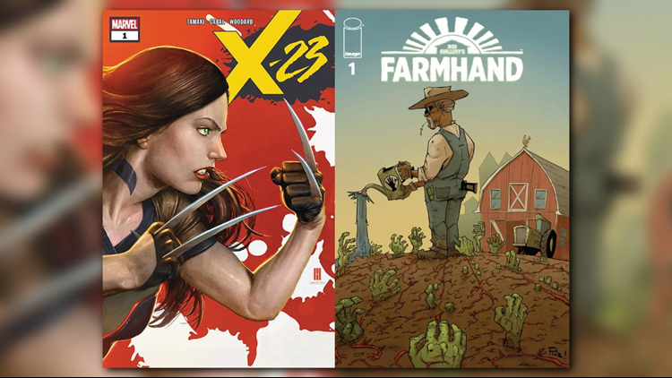 Clones, science, organ farms and a whole lot of weirdness this week for First Coast Comics Pick of the Week! This week we have Image Comics' Farmhand and Marvel's X-23.