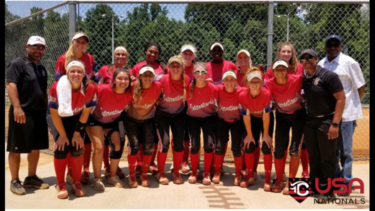 Local travel softball team, coached by Clay Superintendent, stripped