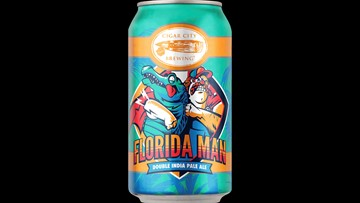 Florida brewery sells beer named after the notorious Florida Man