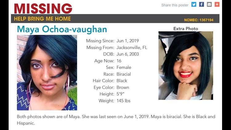 Missing: Maya Ochoa-vaughan