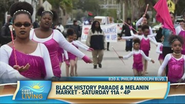 Learn more about the Black History Parade and Melanin Market this weekend (FCL February 20th 2020)