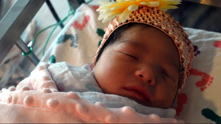 Luciana Castillo was born at 18:18 on 8-18-18 -- a date that is a palindrome which means it reads the same forward and backward.