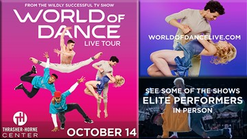 Win tickets to see some of the elite performers of the World of Dance Show on October 14!