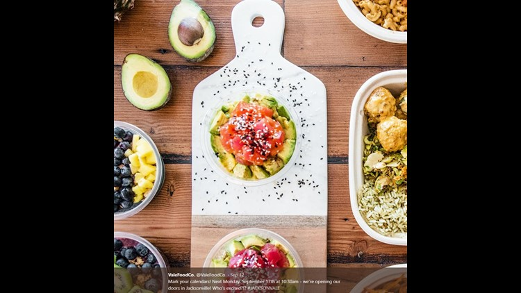 When you walk in, you can choose to customize your own bowl of food  or you can choose from one of the menu items made to order like acai bowls, poke bowls and avacado toast. Most of its menu items are vegan-friendly and gluten free.