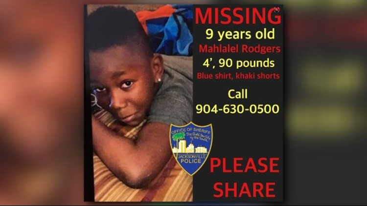 Mahlalel Rodgers, 9, was last seen at 3:30 p.m. walking in the 9300 block of 103rd Street.