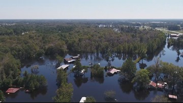North Carolina residents file lawsuit against CSX, blames company for massive flooding