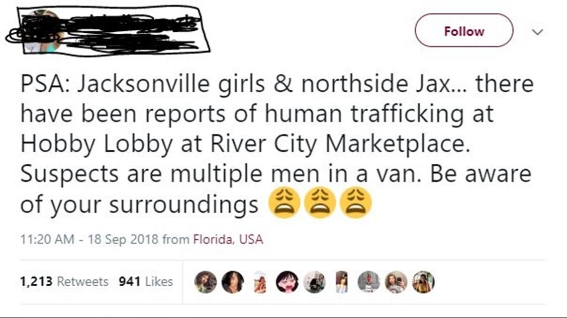 Viral Tweet Claims Possible Human Trafficking At Jacksonville Hobby