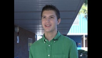 STEM Student of the Week: Lucca Piazza
