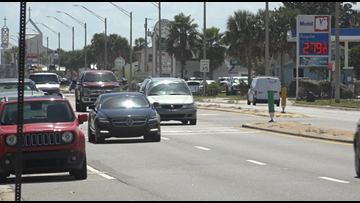 Jax Beach Police: Speeding, distracted driving main problems on A1A