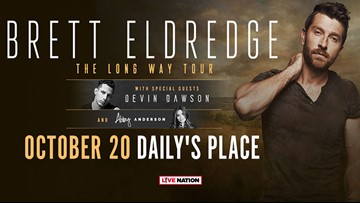 Are you a ready to see Brett Eldredge in concert? Register here to win tickets!