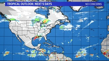 TROPICS: No concerns for the next week; keep checking back