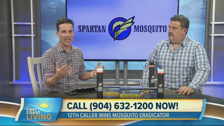 It's mosquito time! Protect yourself and your family with the help of Spartan Mosquito (FCL April 18th)