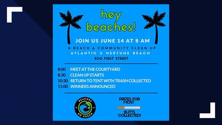 Beaches Go Green Clean up