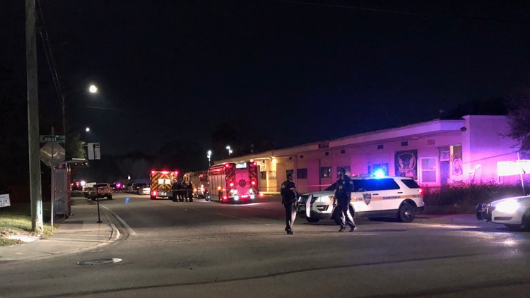 Shots fired during law enforcement operation in Grand Park; suspect in custody
