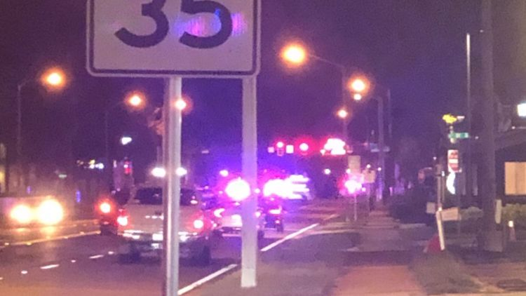 Pedestrian injured after being hit by vehicle on A1A in Jax Beach