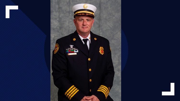 Interim Fire Chief Keith Powers