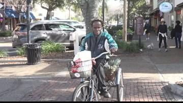 Fernandina Beach native beloved by the community for his treats, harmonica, bike