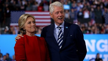 US official: Explosive device found at Clintons' NY home