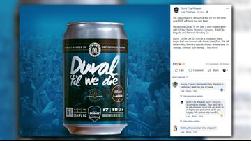 'Duval 'til we die': Bold City Brigade releases limited Jaguars-inspired beer