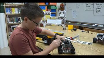 STEM Student of the Week: Andrew Huber, an aspiring engineer
