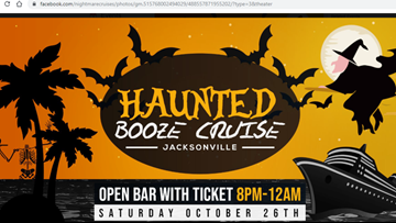 People claim Jacksonville Halloween themed cruise is a scam