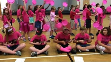 Grace Lutheran students go above and beyond to fight breast cancer