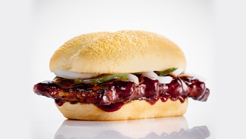 The McRib is back! But what exactly is it made of?