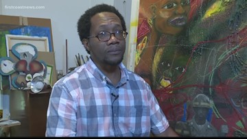 WATCH: Jacksonville artist completes tribute to El Faro and crew on anniversary of maritime disaster