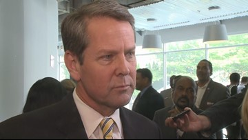 Ga. governor candidate Brian Kemp has problem at polls with voter card