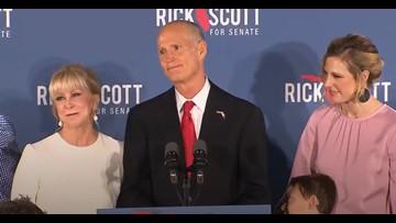 Rick Scott declares victory in Florida Senate race