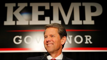Republican Brian Kemp wins Georgia governor race with 50.22 percent of vote