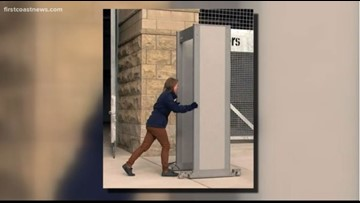 High school metal detectors in Duval County will be for occasional use