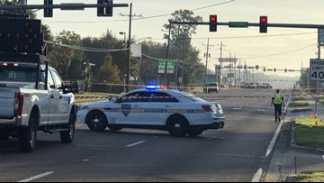 Pedestrian struck by vehicle in Southside on Atlantic Boulevard