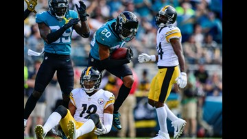 Jaguars give up late TD to lose to Pittsburgh