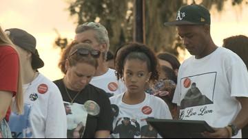 Memorial Park service honors victims of gun violence