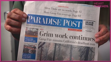 Paradise Post's 2-man team is hand-delivering newspapers to Camp Fire evacuees