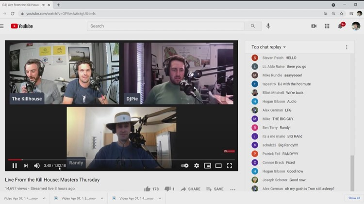 Jacksonville Beach podcasters 'No Laying Up' get ESPN Masters feature