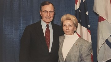 Presidential pen-pal: St. Augustine woman shares letters sent by George H.W. Bush