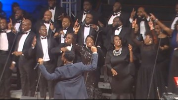 First ever gospel concert comes to Daily's Place to perform #AJacksonvilleChristmas