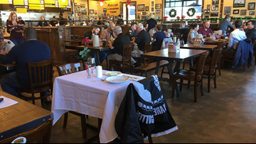 A quiet tribute & tradition: Table honors POWs/MIA at Mission BBQ
