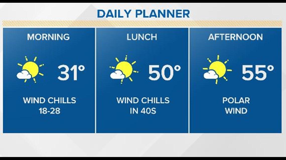 Freeze Warning & Wind Chill Advisory until 10 a.m.