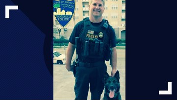 JSO officer and K-9 back return to work after being shot nearly two years ago