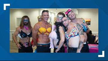 Breast cancer awareness meets Magic Mike in 'Bratini' event